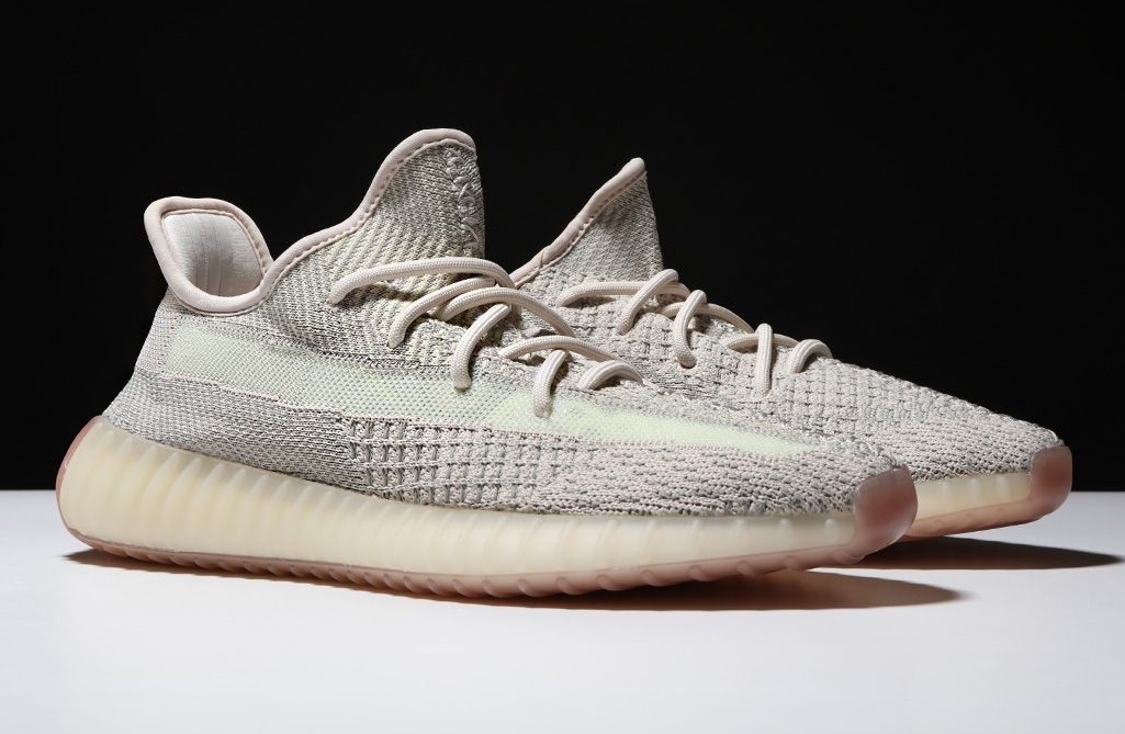 Yeezy Boost 350 V2 Citrin perfect replica shoes