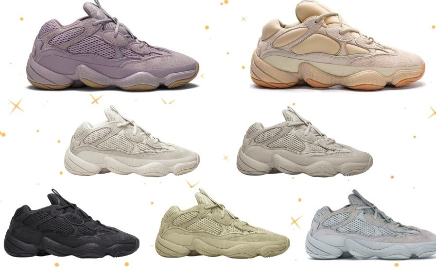 Best Fake Yeezy 500 Collection