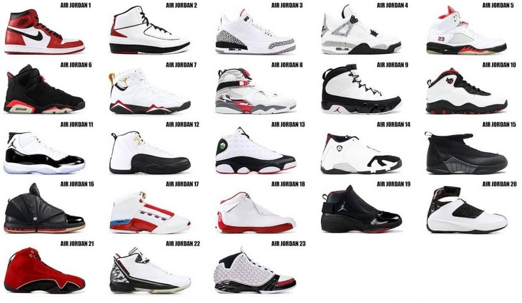 all Nike Air Jordan Fake shoes