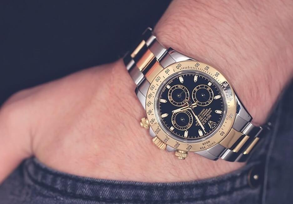 replica Rolex Daytona 116523 steel yellow watches