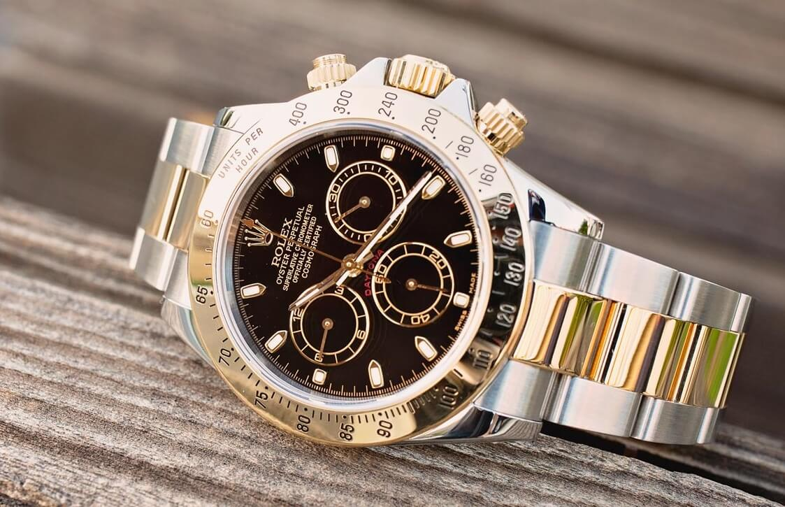 two tone replica Rolex Daytona 116523